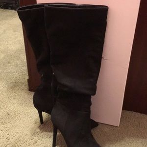 Jessica Simpson faux suede boot